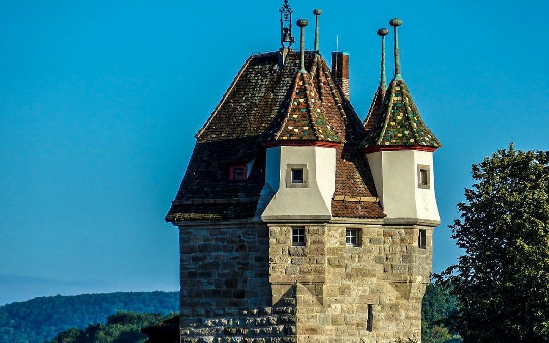 Fünfknopfturm in Schwäbisch Gmünd